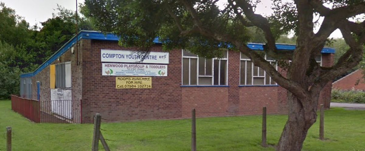 The former Compton Youth Centre in Henwood Road, Wolverhampton. Photo: Google
