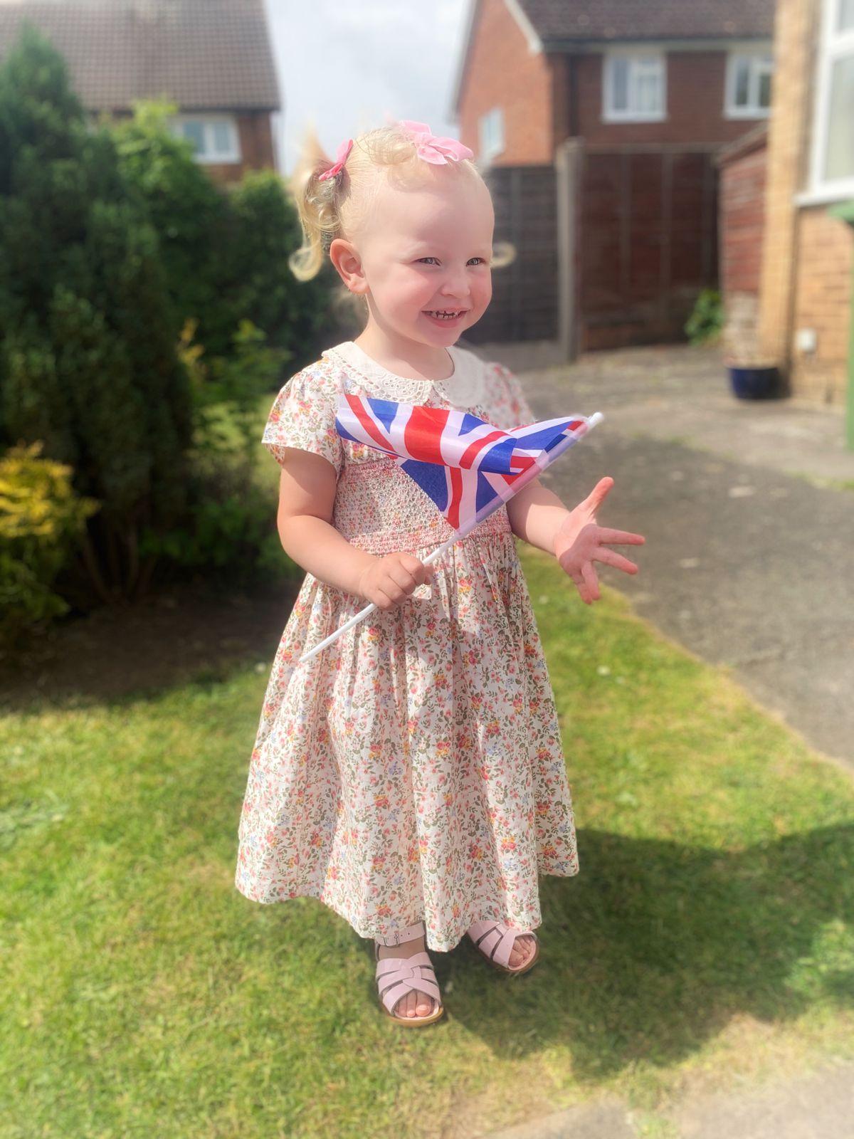 Madison Martin. aged two, Wolverhampton
