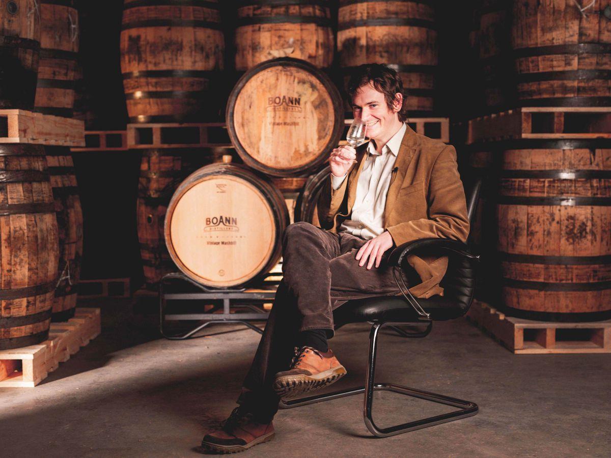 Leading whiskey historian Fionnan O'Connor