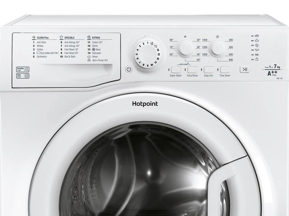 Watch as Hotpoint washing machine catches on fire for ...