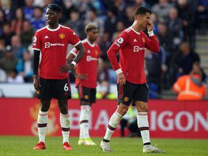 Manchester United's Paul Pogba (left)