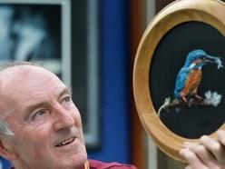 Wildlife art exhibition in Cannock