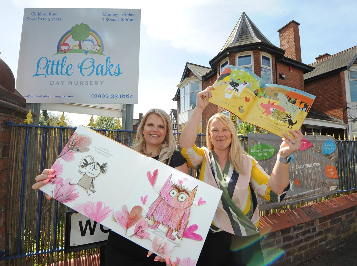 Childcare and business manager Natalie Checketts and provision manager Joanne Craze are looking to welcome more children