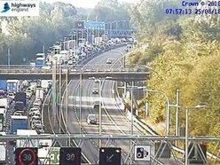 M6 closed for five hours over bridge incident