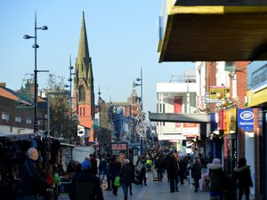 West Bromwich town centre has become a crime hotspot in recent years