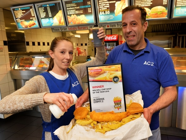 Chippy 2 tops charts for the best takeaway in Walsall