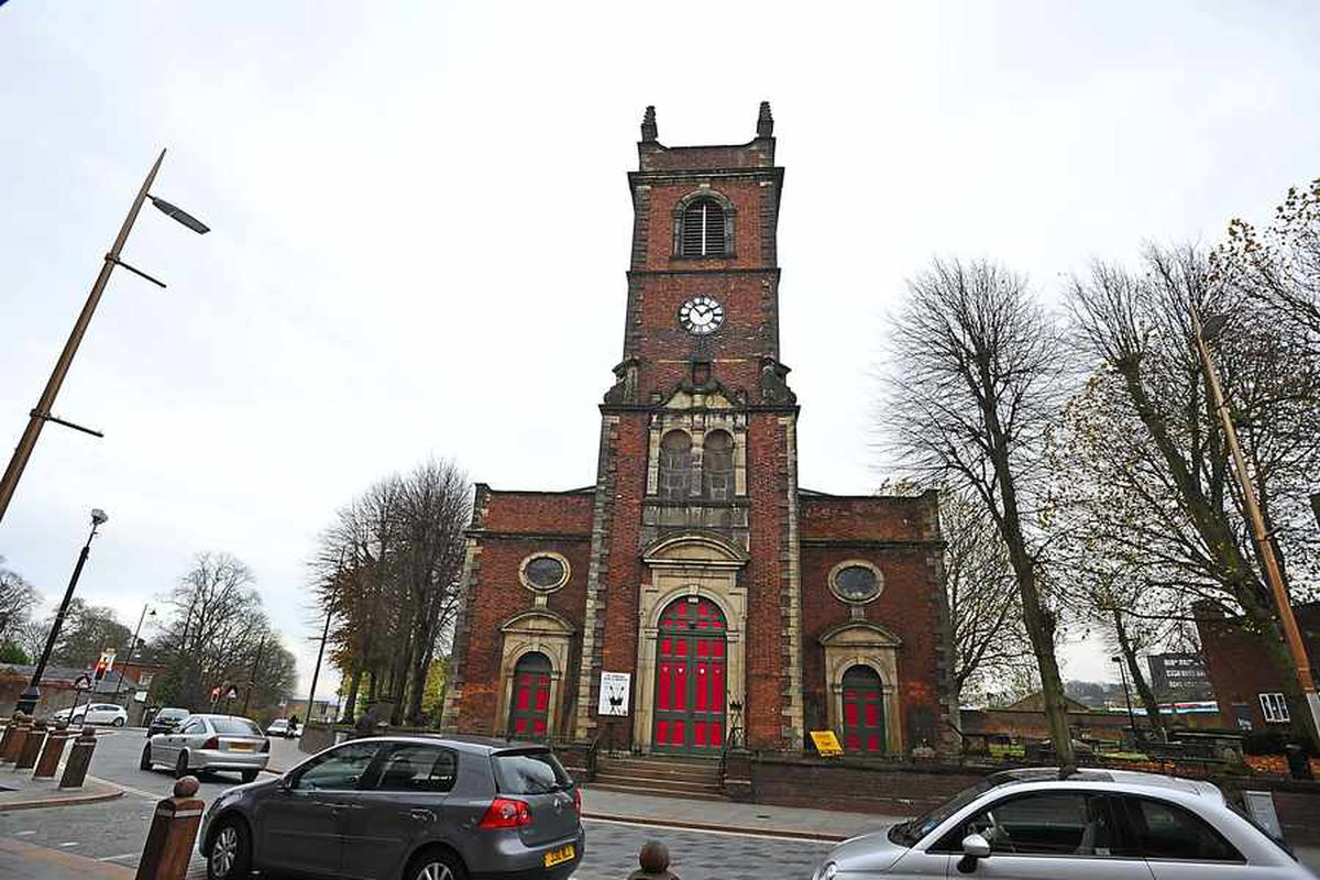 Church of St Edmund, Castle Street, Dudley