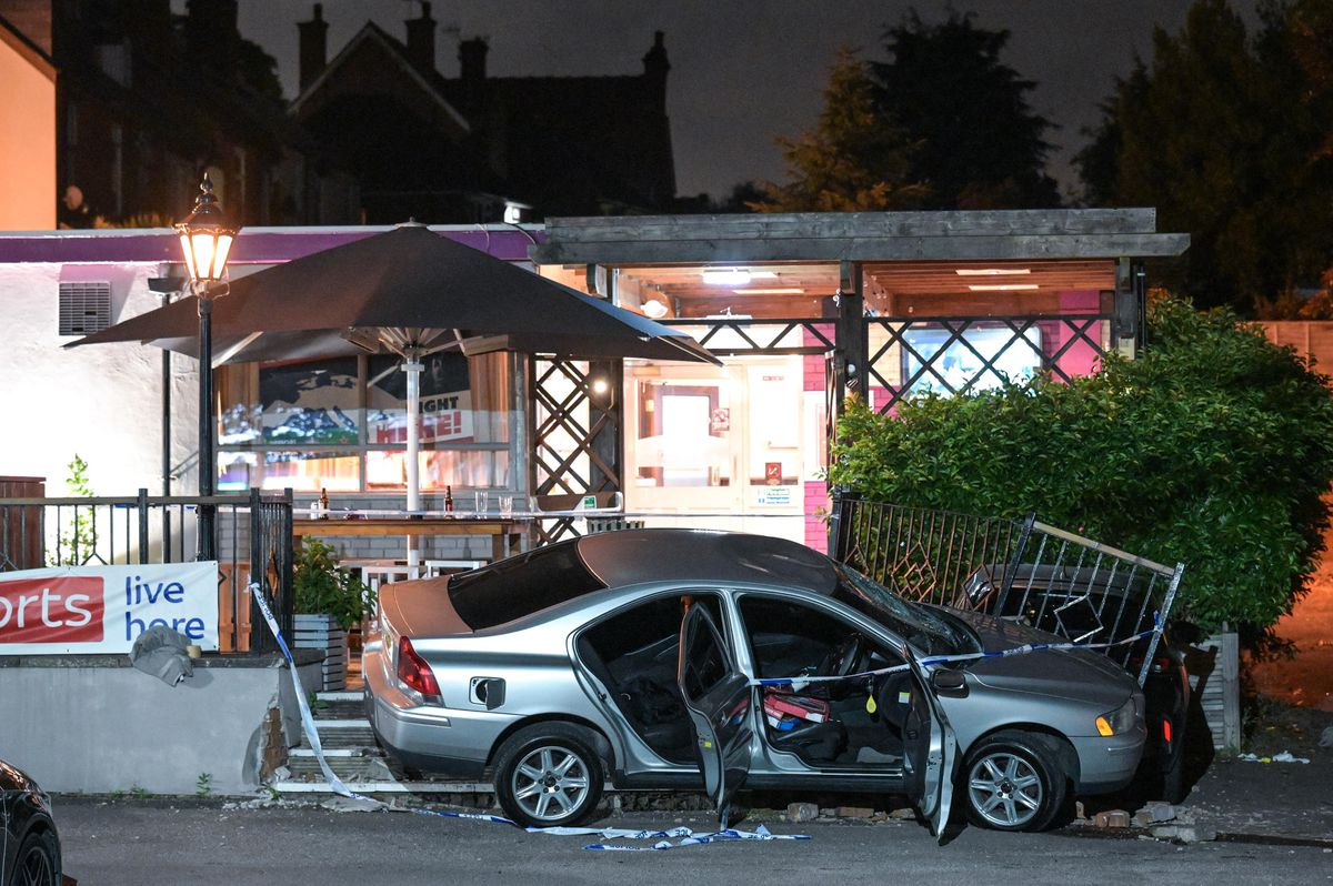 The scene of the incident at the Gigmill, in South Road, Stourbridge. Photo: SnapperSK.