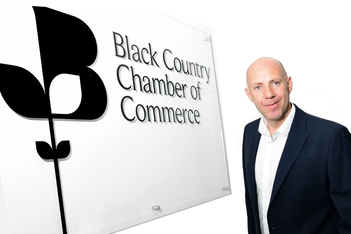 Corin Crane is the chief executive of the Black Country Chamber of Commerce