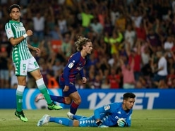 Griezmann scores twice as five-star Barcelona hit back to beat Real Betis