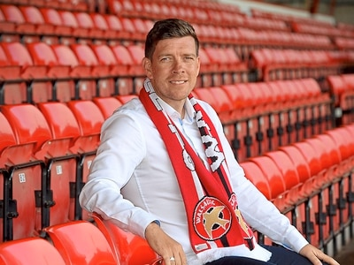 Darrell Clarke embracing the pressure at Walsall