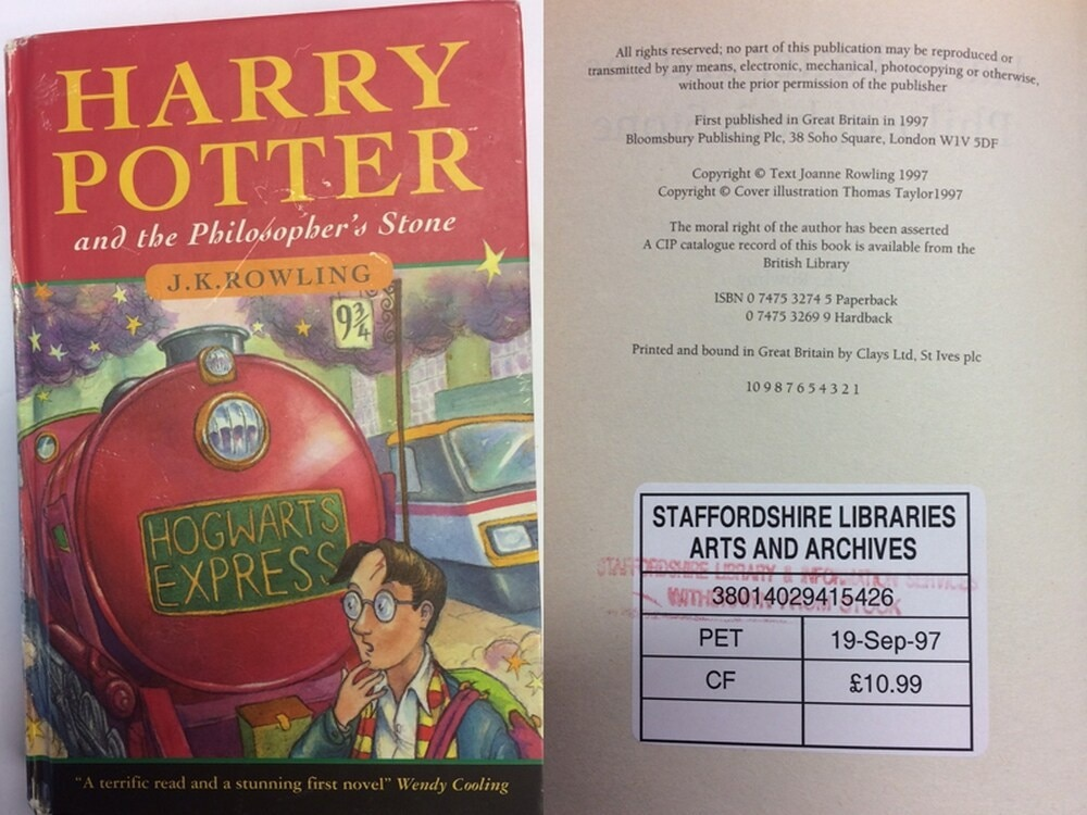 First harry potter book