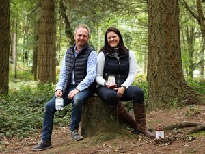 The founders of Wildjac Distillery, which launched in October last year, are the husband-and-wife team of Chris and Aster Sadler
