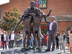 GALLERY: Three Degrees statue unveiled honouring footballing icons