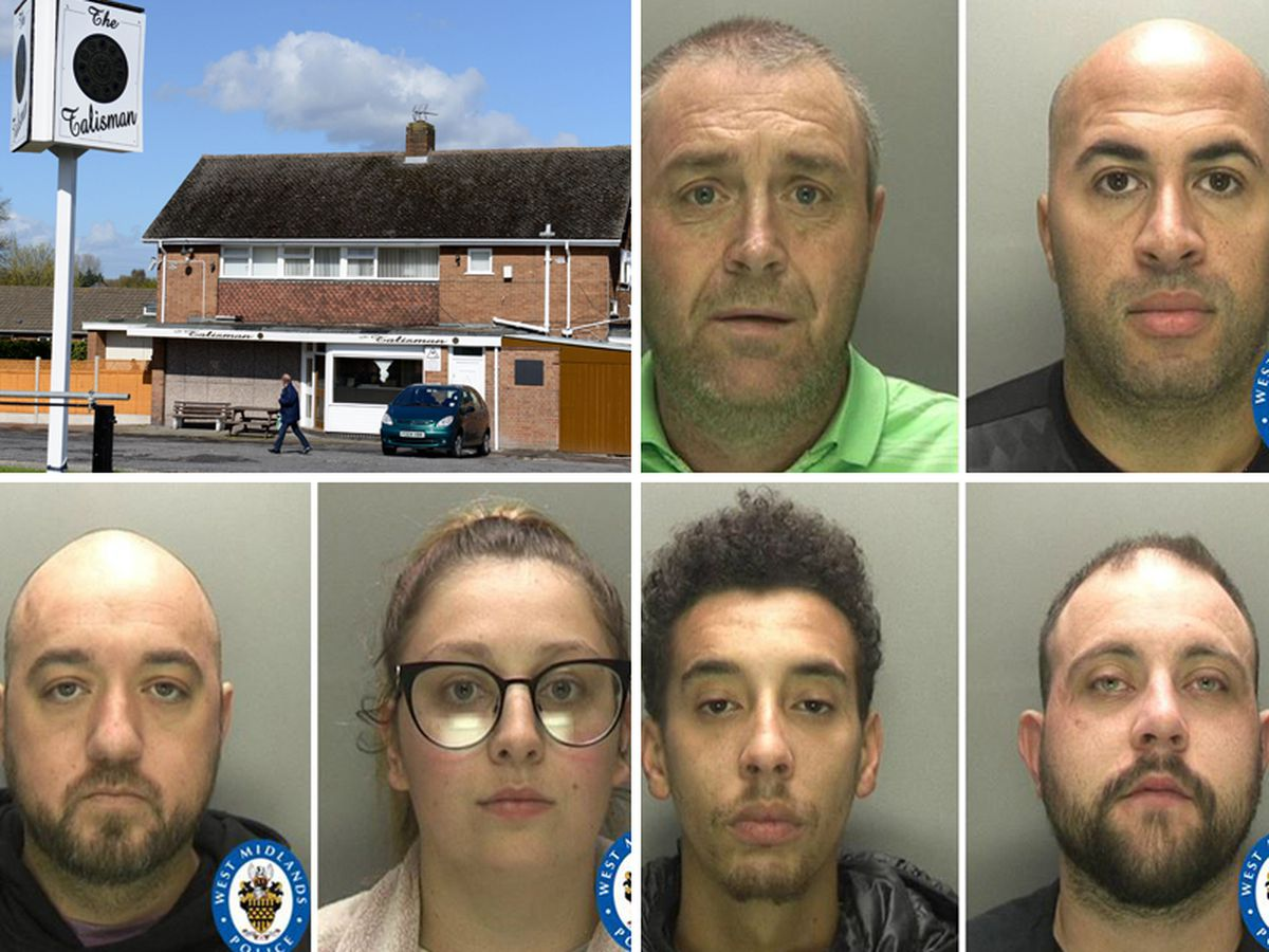 Six people have been sentence for drug dealing based at The Talisman pub