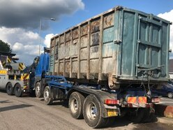 Lorry seized by Cannock Chase District Council over suspected fly-tipping use