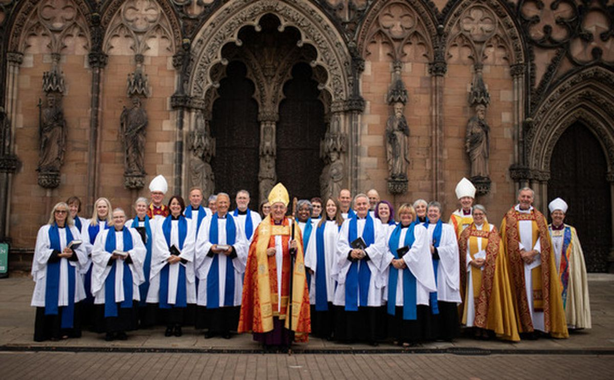 The Bishop of Lichfield has commissioned 19 new lay ministers for the diocese.