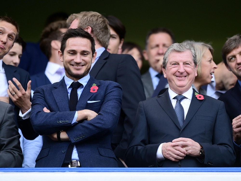 Roy Hodgson impressed by the job Frank Lampard has done at Chelsea in the Premier League