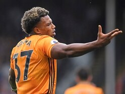 Wolves man Adama Traore is after a cup victory