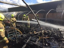 Brierley Hill industrial estate units hit by fire