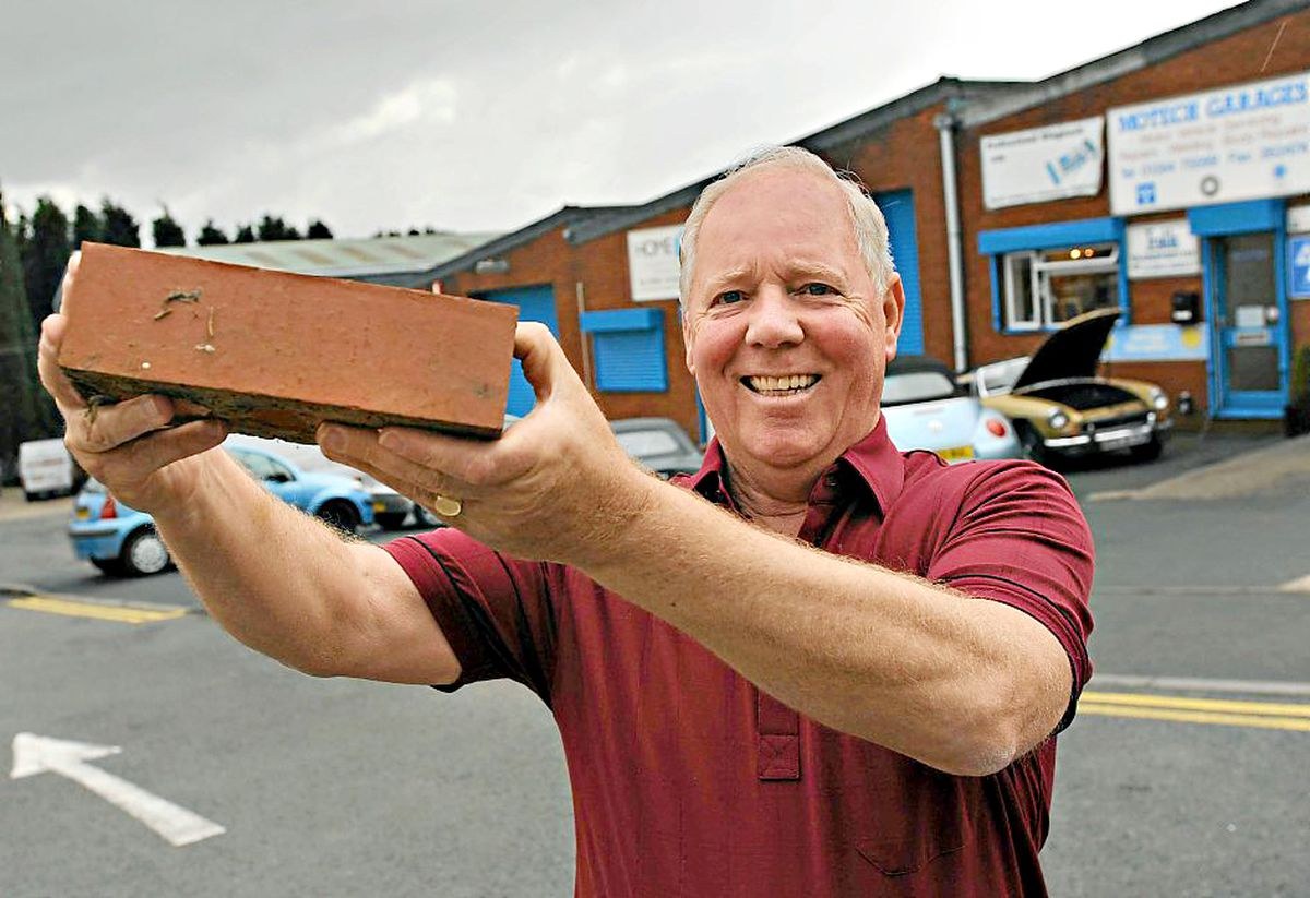 Mr Whittaker who bought the Delph Industrial Estate when it was a brickyard
