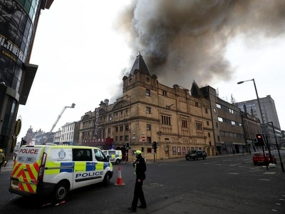 Glasgow blaze 'one of the biggest' firefighters have faced