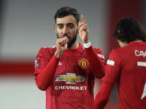 Bruno Fernandes fired Manchester United to victory against Liverpool