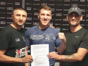 BCB Head Trainer Paul Mann, Shaun Cooper, Martin Gethin