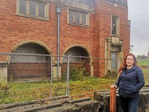 Wolverhampton North East MP Jane Stevenson has been appealing for the former Heath Town Baths to be renovated. Photo: Jane Stevenson.