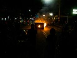 Protesters rally in Portland as mayor decries violence