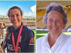 England cricket star Georgia Elwiss: Rachael helped us win the World Cup