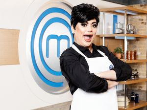 For use in UK, Ireland or Benelux countries only ..Undated BBC handout photo of RuPaul UK finalist and drag artist Baga Chipz who will take part in the upcoming series of Celebrity MasterChef. PA Photo. Issue date: Monday May 25, 2020. Filmed before the current coronavirus crisis, the famous faces will put put through their culinary paces over five weeks to find out who has the cooking skills to take home the trophy. See PA story SHOWBIZ MasterChef. Photo credit should read: BBC/PA Wire..NOTE TO EDITORS: Not for use more than 21 days after issue. You may use this picture without charge only for the purpose of publicising or reporting on current BBC programming, personnel or other BBC output or activity within 21 days of issue. Any use after that time MUST be cleared through BBC Picture Publicity. Please credit the image to the BBC and any named photographer or independent programme maker, as described in the caption....