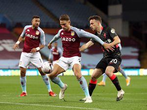 Aston Villa's Matty Cash