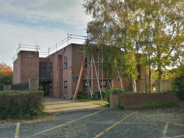 The leaking roof has been replaced at Kingsway Church in Wombourne, thanks to a £21,000 grant