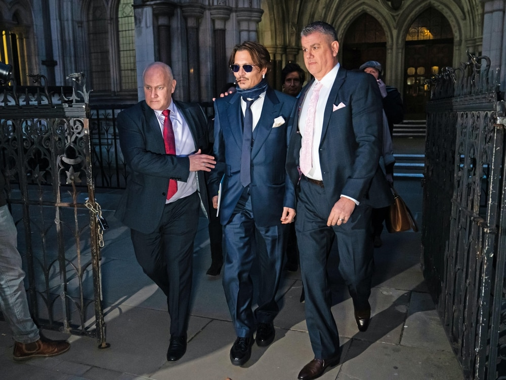 United Kingdom tabloid lawyers urge court to 'throw out' Johnny Depp's libel claim