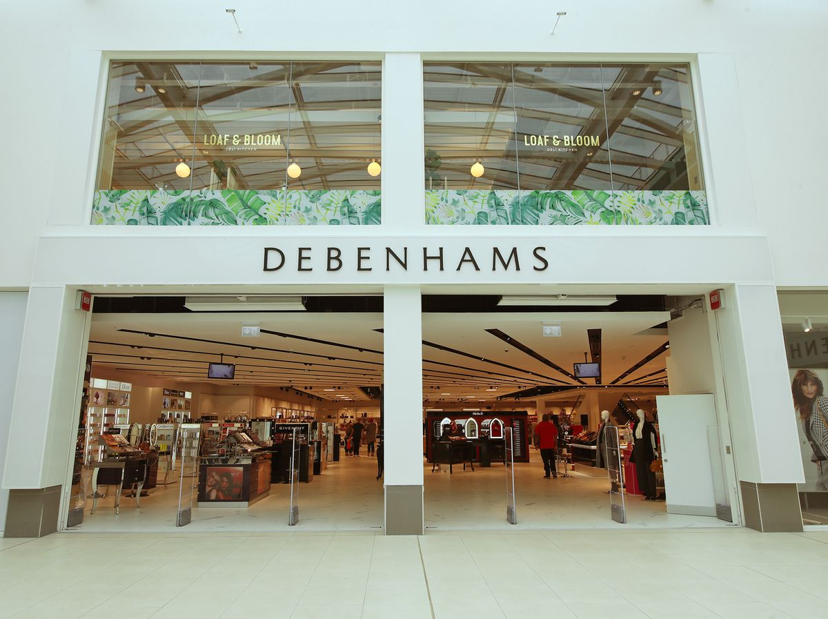 Debenhams is closing its store in Wolverhampton's Mander Centre which only opened in October 2017