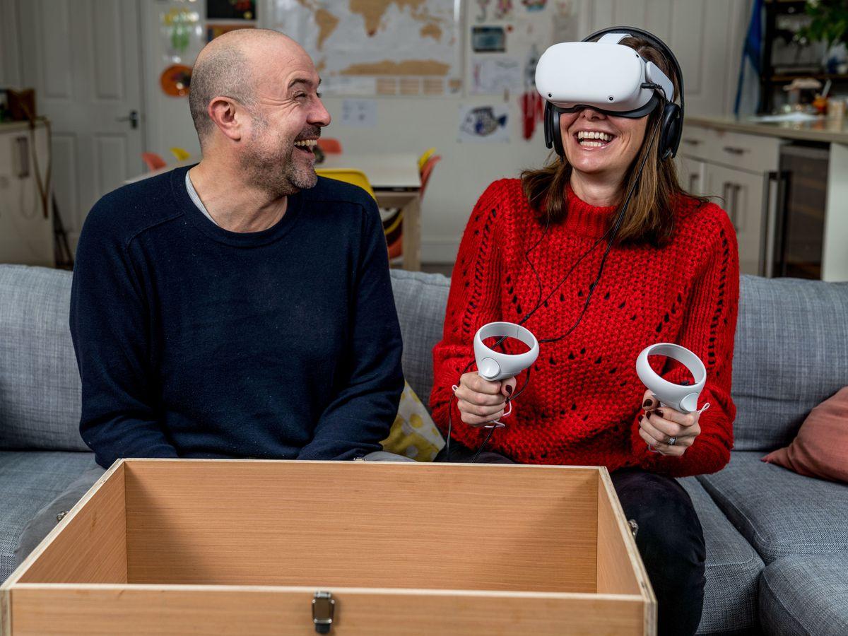 Abarth VR test drive