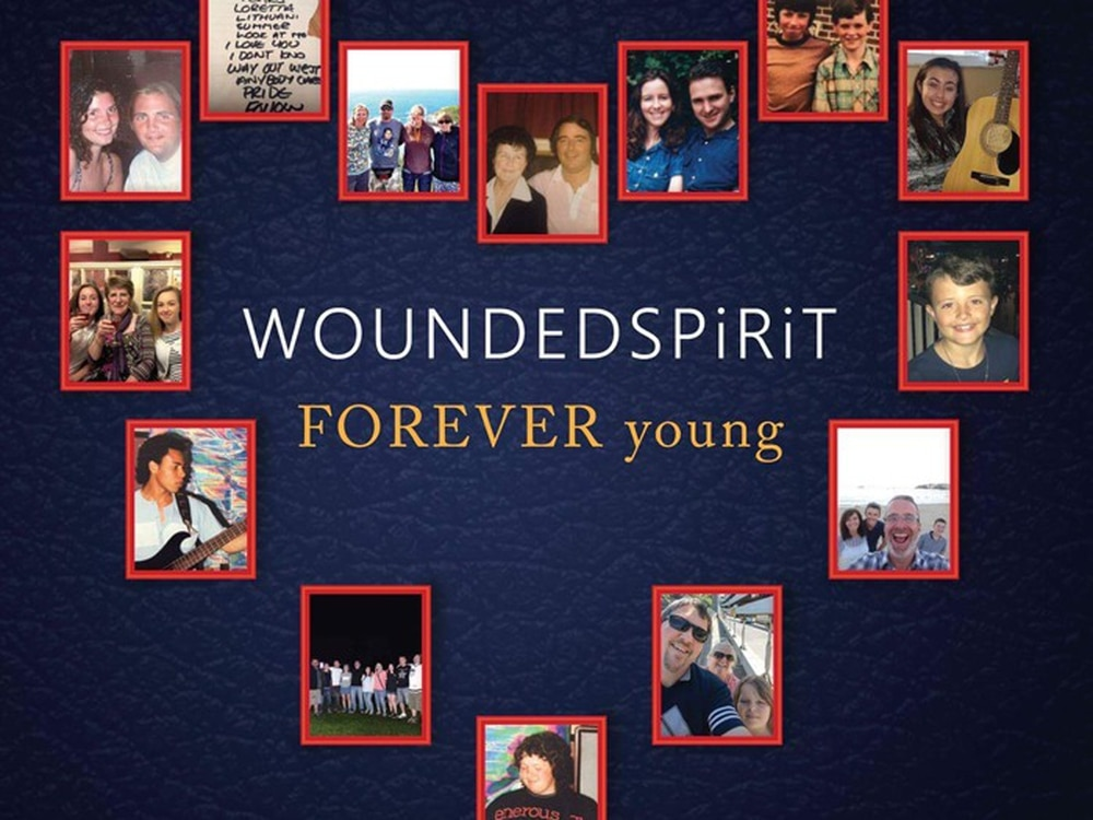 Unsigned band WOUNDEDSPiRiT, FOREVER young - album review