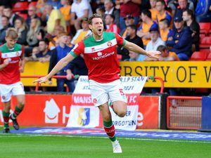 Ash Taylor celebrates his goal