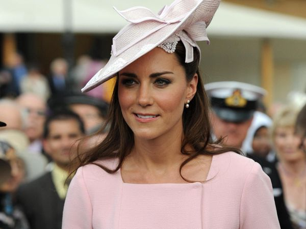 The Duchess of Cambridge in pink