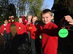 Homebuilder's bright idea for pupils this winter