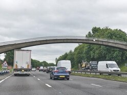Stafford M6 footbridge will not be rebuilt