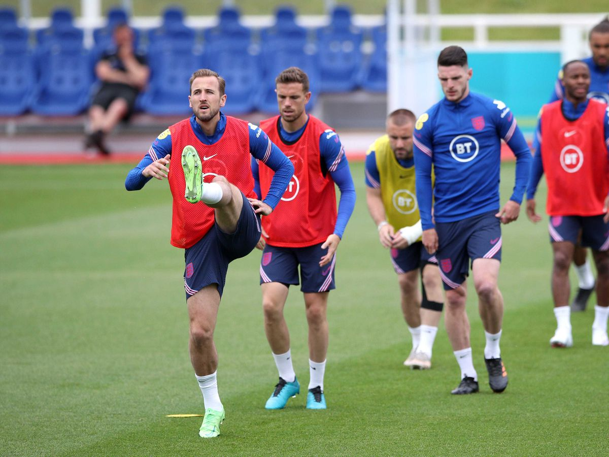 Harry Kane and his England team-mates have been preparing for their Euro 2020 opener this week.