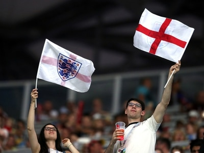 'Football's coming home!': Watch England fans in cannock relishing the World Cup atmosphere - VIDEO