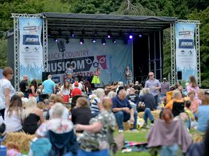 Black Country Musicom Festival at Himley Hall in 2019