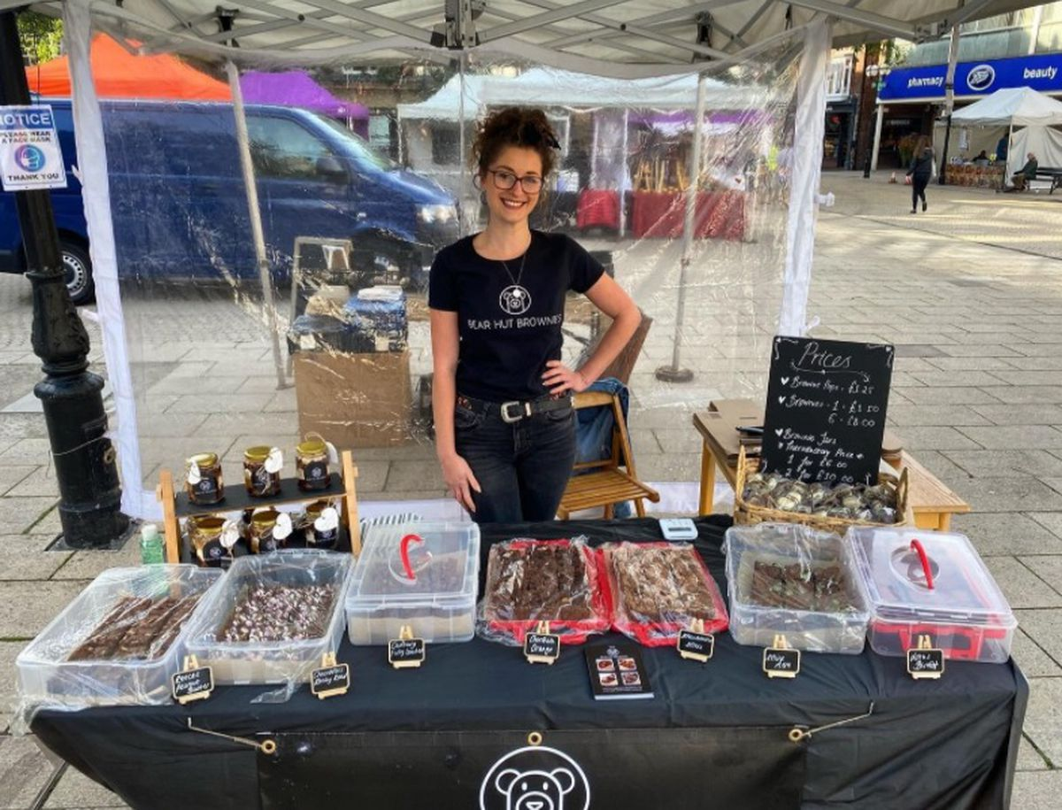 Stafford's Bear Hut Brownies to be one of 40 stalls at the Hednesford Farmers and Craft Market