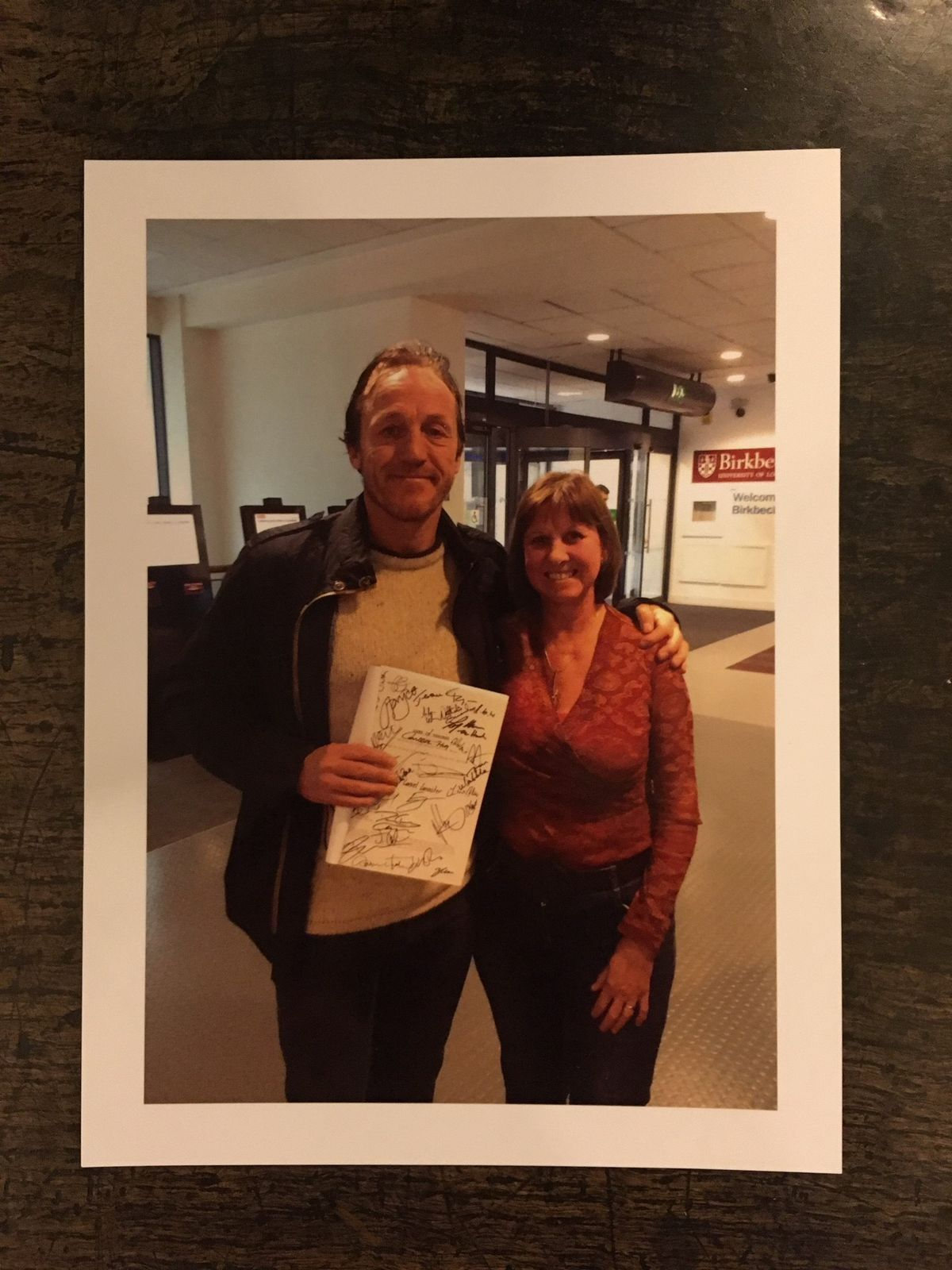 Jerome Flynn with Angela Raybould - credit Hansons