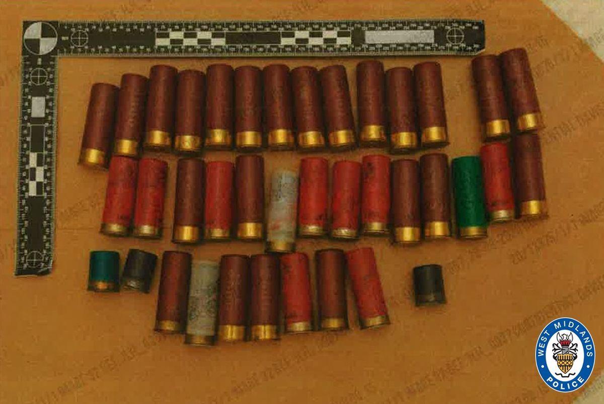 Police also found ammunition