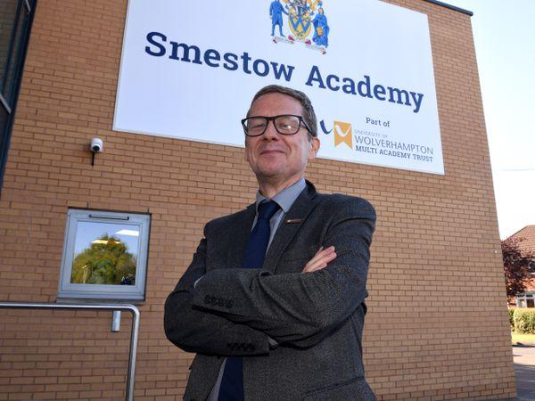 Clive Jones, headteacher of Smestow Academy in Wolverhampton