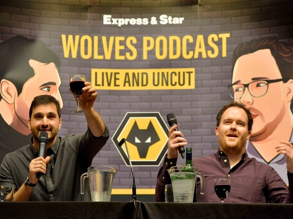 Wolves podcast LIVE raises over £1000 for Cure Leukaemia - IN PICTURES